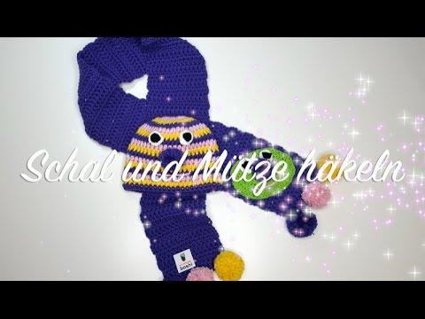 Schal Und Mütze Häkeln Myboshi Isehara Kindermütze Und Schal