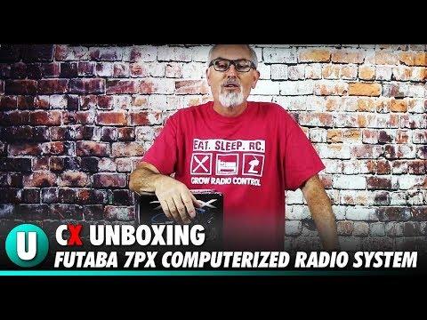 Futaba T7PX 2.4Giga T-FHSS SR+ R334SBS