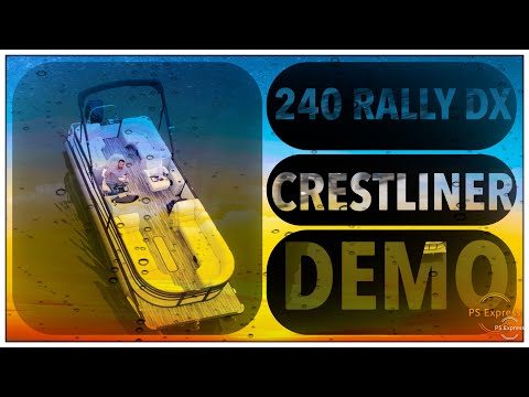 Crestliner 240 Rally DX CW video