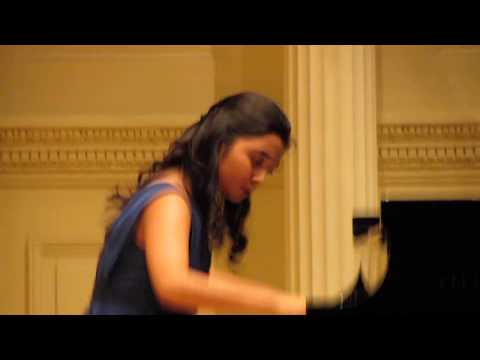 Weill Recital Hall, Carnegie Hall, March 2013.