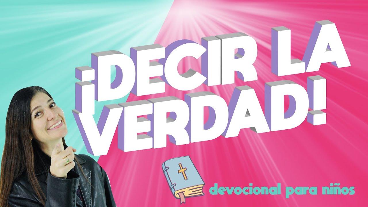 """Decir la verdad. Devocional para niños """"Discípulos de Jesús"""" Amy & Andy ."""