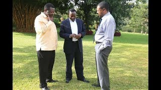 Nasa co-principals 'unaware' of Raila, Uhuru discussion - VIDEO