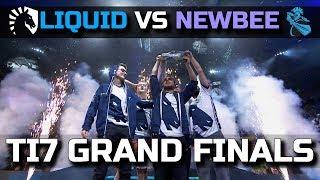 LIQUID vs NEWBEE - $10.000.000 EPIC Grand Finals Dota 2 TI7