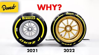 Why F1's 2022 Wheels are Slower but Better