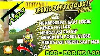 UPDATE CONFIG FIX LAG V.1.52.3.9‼️ FF GRAFIK HD ULTRA +SHADOW NO LAG ‼️ CARA MENGATASI FREZEE RAM 1