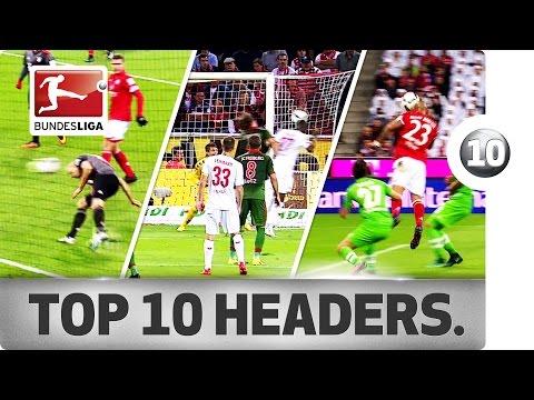 افضل 10 اهداف بالرأس فى الدوري الالماني