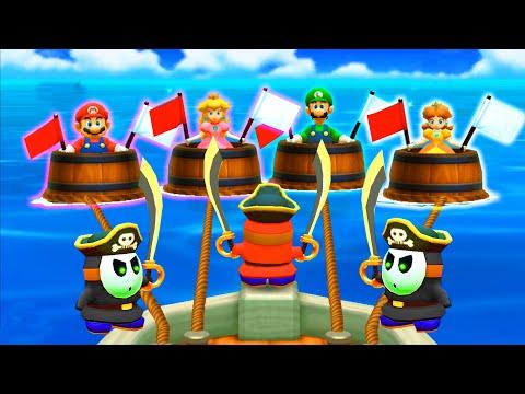 【マリオパーティ100ミニゲームコレクション】マリオVsピーチ姫VsルイージVsデイジー