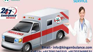 Most Affordable King Road Ambulance in Katihar and Madhubani