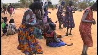 Dance during Aboriginal Initiation Ceremony, northern Australia (1)