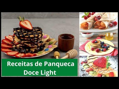 Receitas de Panqueca Doce Light