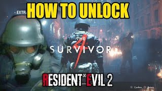 Resident Evil 2: How to Unlock The 4th Survivor (Hunk Campaign)