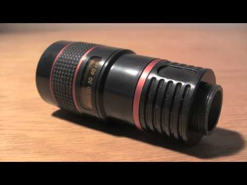 SW-Box Optical 8x Zoom Lens Camera Telescope iPhone 4 Review