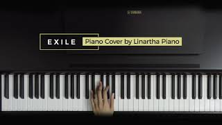 EXILE TAYLOR SWIFT FEAT BON IVER PIANO COVER BY LINARTHA PIANO