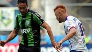 Bahia 1x1 América-MG