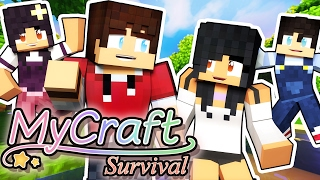 Mysterious Gift  MyCraft Family Minecraft Survival [Ep.1]