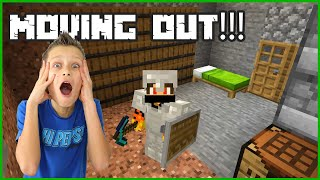 MOVING OUT OF THE VILLAGE!