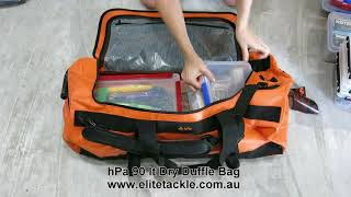 Elite Tackle presents the HPA 90L Dry Duffle Bag
