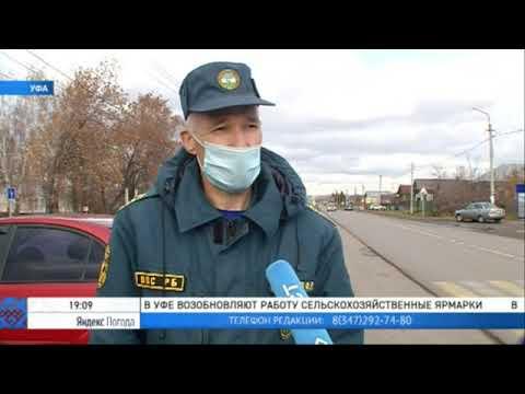 В Уфимском районе проверили работу пожарных извещателей