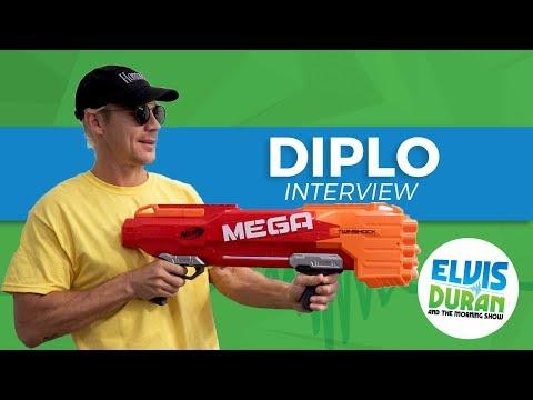 Diplo Chats DMing With Rihanna, John Cena, and Beach Balls | Elvis Duran Show