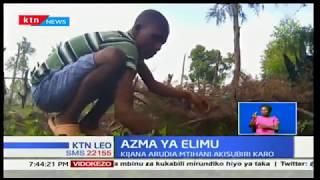 Azma ya Elimu:Kijana arudia mtihani akisubiri karo ya shule