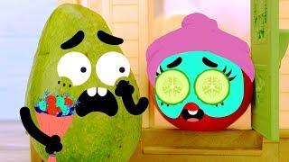 Смешные проделки фруктов и овощей - Дудлэнд