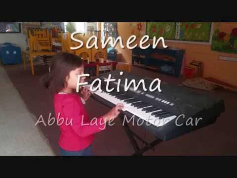 Abbu Laye Motor Car Sameen Fatima