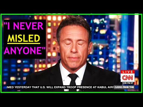 Chris Cuomo's PATHETIC Response To His Brothers Resignation & His Complicity