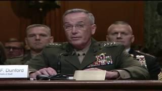 Mattis, Dunford Testify at Senate Hearing