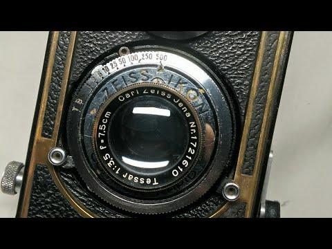 THE EXCLUSIVE ZEISS IKON   1936 IKOFLEX II 851/16