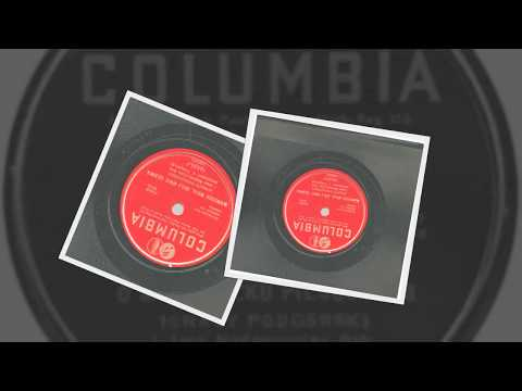 Polish 78rpm recordings, 1937. Columbia 18635-F. O Marszałku Piłsudskim – Marsz. B. Rosalak -vocal