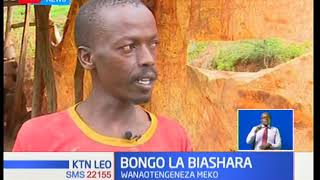 Kundi moja katika kaunti ya Nyeri hutumia mchanga kutengeza meko na matofali