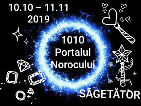 SĂGETĂTOR - Portalul Norocului - 10.10.2019-11.11.2019