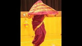Assal Maharastrian Laawni performed at Marathi Katta, Frankfurt, Germany, 2015