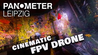PANOMETER LEIPZIG FPV Drohne Fly Trough (Cinematic FPV Cinewhoop Drone Video)