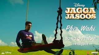 Jagga Jasoos: Phir Wahi Video Song | Ranbir, Katrina | Pritam