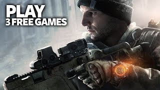 Play Free 3 PC Games From Ubisoft - Free Steam PC Games (The Division - Steep - Trial Fusion)