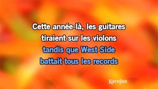 Karaoké Cette Année Là   Claude François *