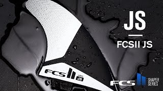 The FCS II JS fin by JS Industries delivers a smooth ride