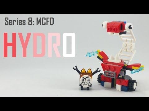 Vidéo LEGO Mixels 41565 : Hydro