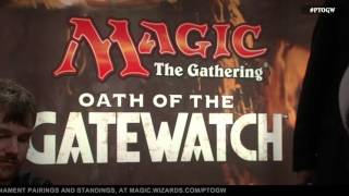 Pro Tour Oath of the Gatewatch Quarterfinals: Ivan Floch vs. Frank Lepore