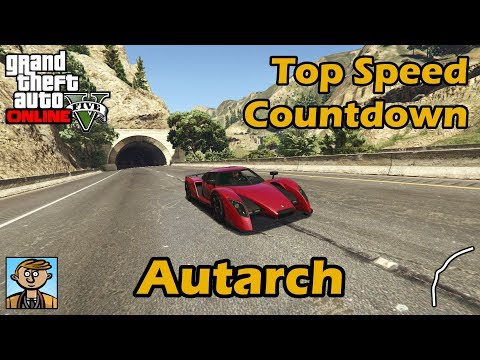 Fastest Supercars (Autarch) - GTA 5 Best Fully Upgraded Cars Top Speed Countdown