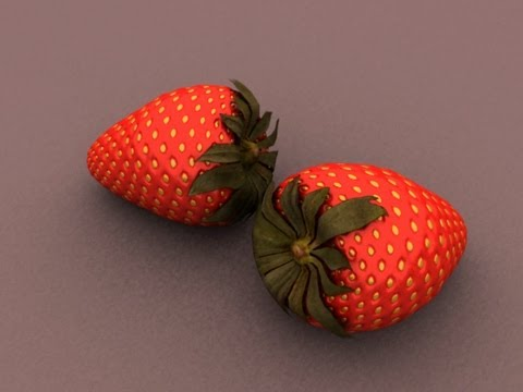Autodesk Maya 2013 Tutorial – Modeling Simple Strawberry