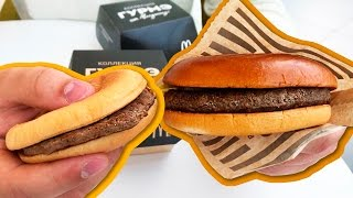 Новые бургеры в Макдоналдс