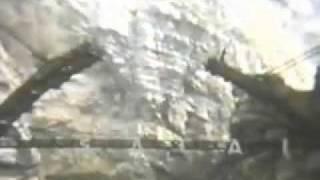 preview picture of video 'Costruzione Ponte Sacaim - Longarone Diga del Vajont 1956'