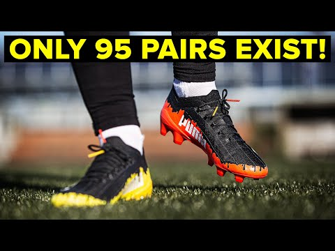 ONLY 95 PAIRS | These new football boots are super rare