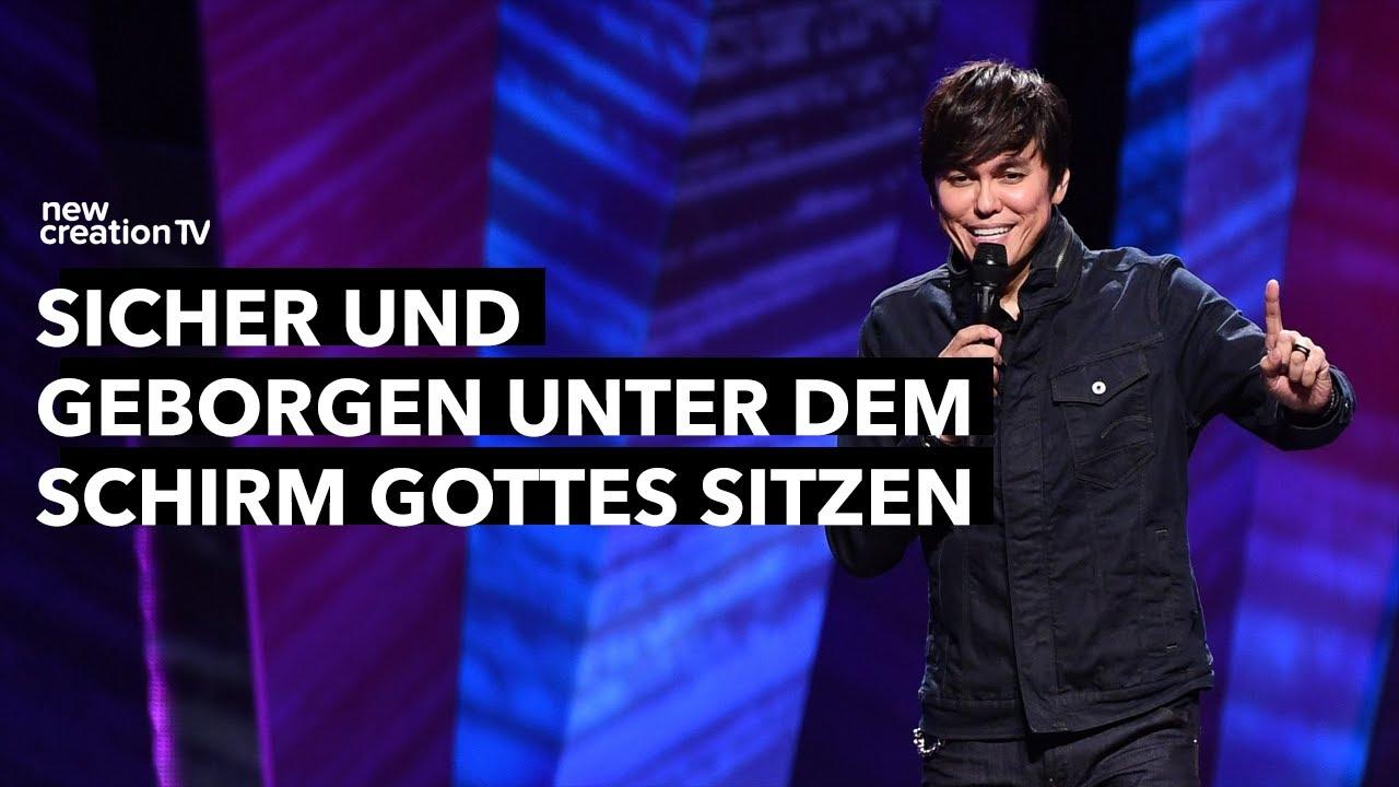 Sicher und geborgen unter dem Schirm Gottes bleiben – Joseph Prince I New Creation TV Deutsch