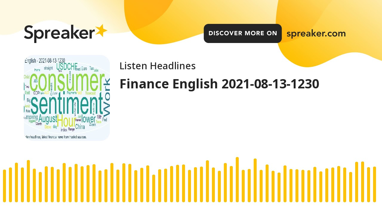 Financing English 2021-08-13-1230 (made with Spreaker) thumbnail