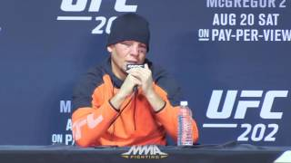 UFC 202 Post-Fight Press Conference: Nate Diaz