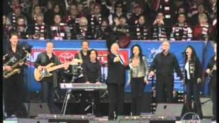 "John Farnham ""Youre The Voice"" ft Jimmy Barnes & Mark Seymour AFL GF 2009"