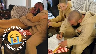 Boy Surprises Stepdad With Video Asking To Be Adopted